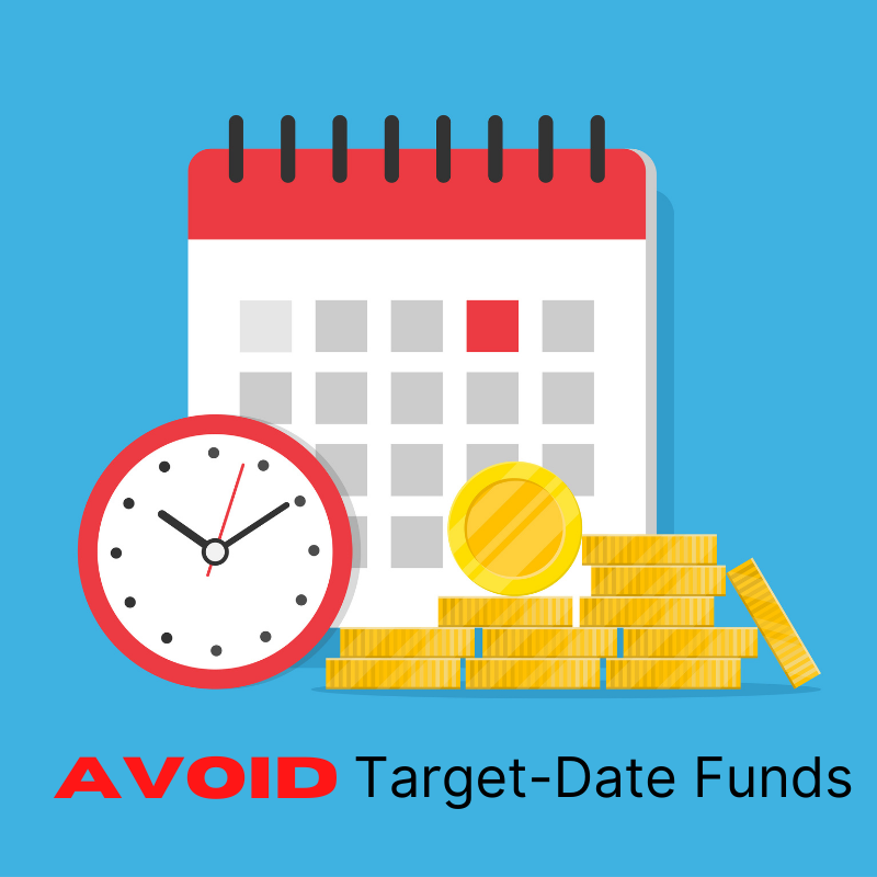 Avoid target date funds